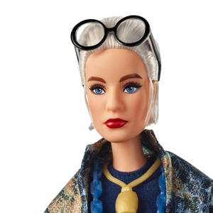 Amazon.com: Barbie Styled by Iris Apfel Doll with Floral