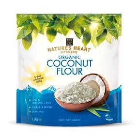 coconut;coconut flour; flour; gluten free flour;organic flour;unrefined flour;high fibre flour;
