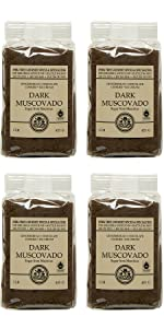 Dark Muscovado Sugar Chef Pak Bag x 4
