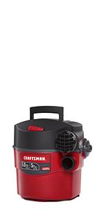 craftsman 5 gallon wall vac