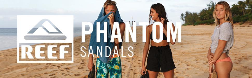 REEF, Sandals, comfort, Cushion, mens, phantom