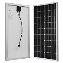 Renogy RV Solar Kit 100 Watts 12 Volts Monocrystalline Off-Grid Kit