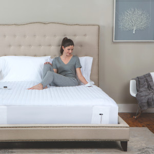 Stretch-to-Fit Bed Skirt