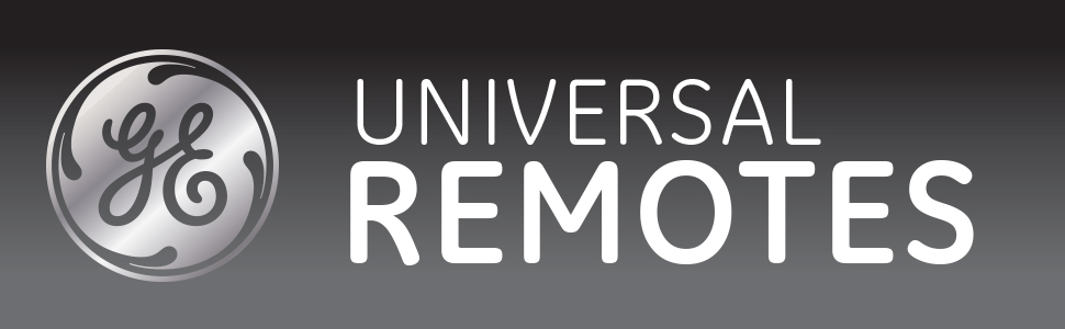 GE universal remote controls