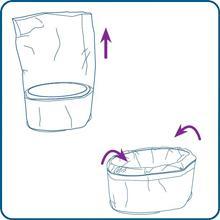 install new dekor plus refill top frame dekor classic hands-free diaper pail