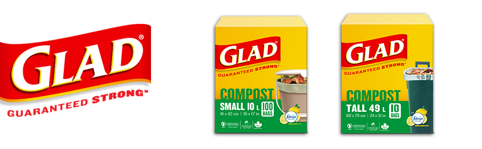 glad, garbage bags, glad bags, trash bags, recycling bags, compost bags
