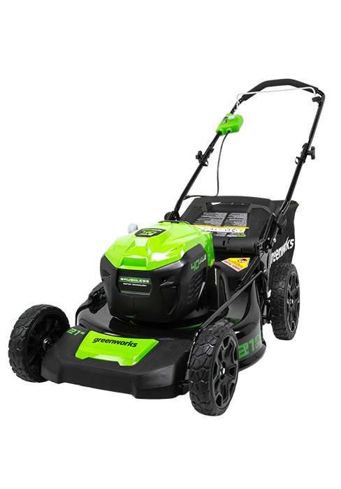 Amazon.com: Greenworks 40V Podadora sin escobillas, Push, 20 ...