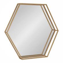 geometric hexagon octagon wall mirror rectangle modern minimalist simple clean
