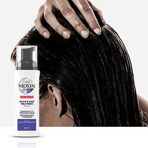 Tratamiento para proporcionar un cuero cabelludo más fresco