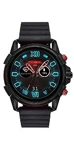 Amazon.com: Diesel Unisex Diesel ON Armbar Hybrid Smartwatch ...