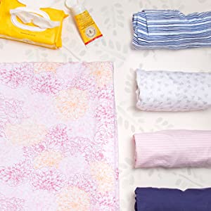 Burt's Bees Baby Changing Pad Covers
