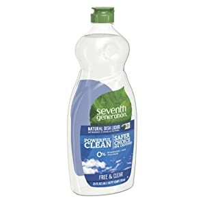 Seventh Generation Free & Clear Dish Liquid Soap