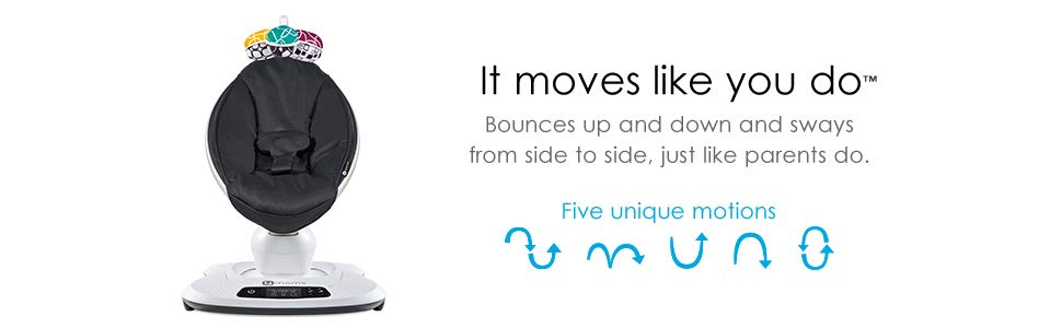 4moms mamaRoo 4 it moves like you do