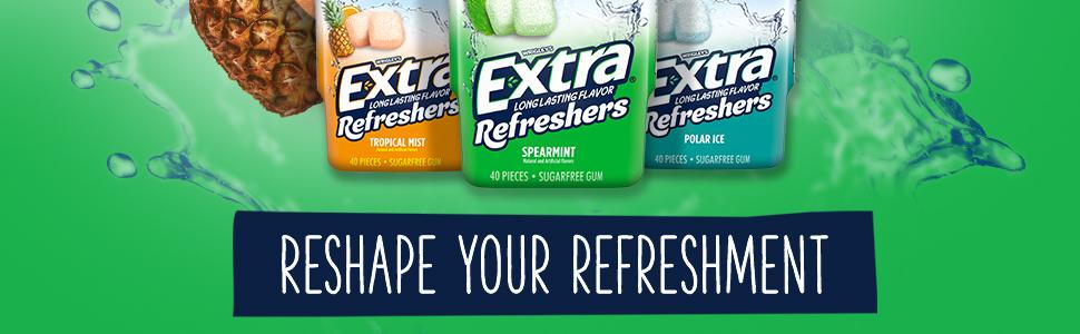 Reshape your refreshment
