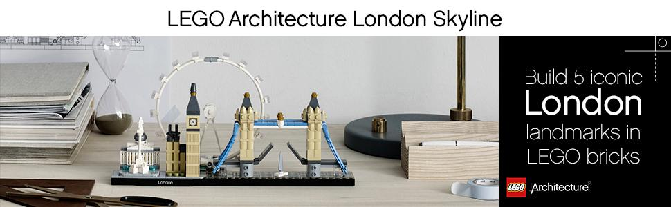 London Skyline, lego architecture,