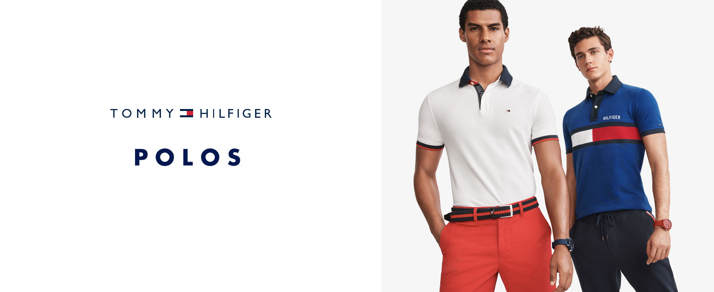 Tommy Hilfiger Mens Polo Shirts