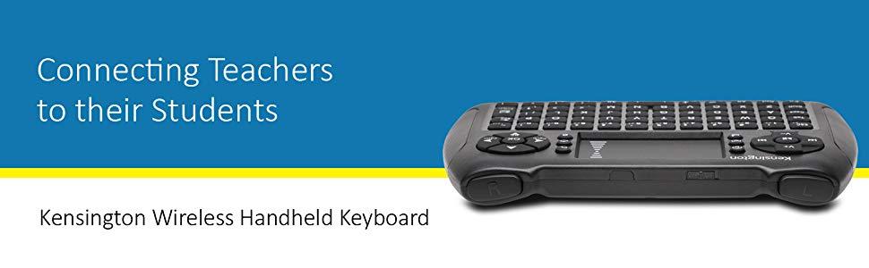 Kensington Wireless Handheld Keyboard Banner APlus