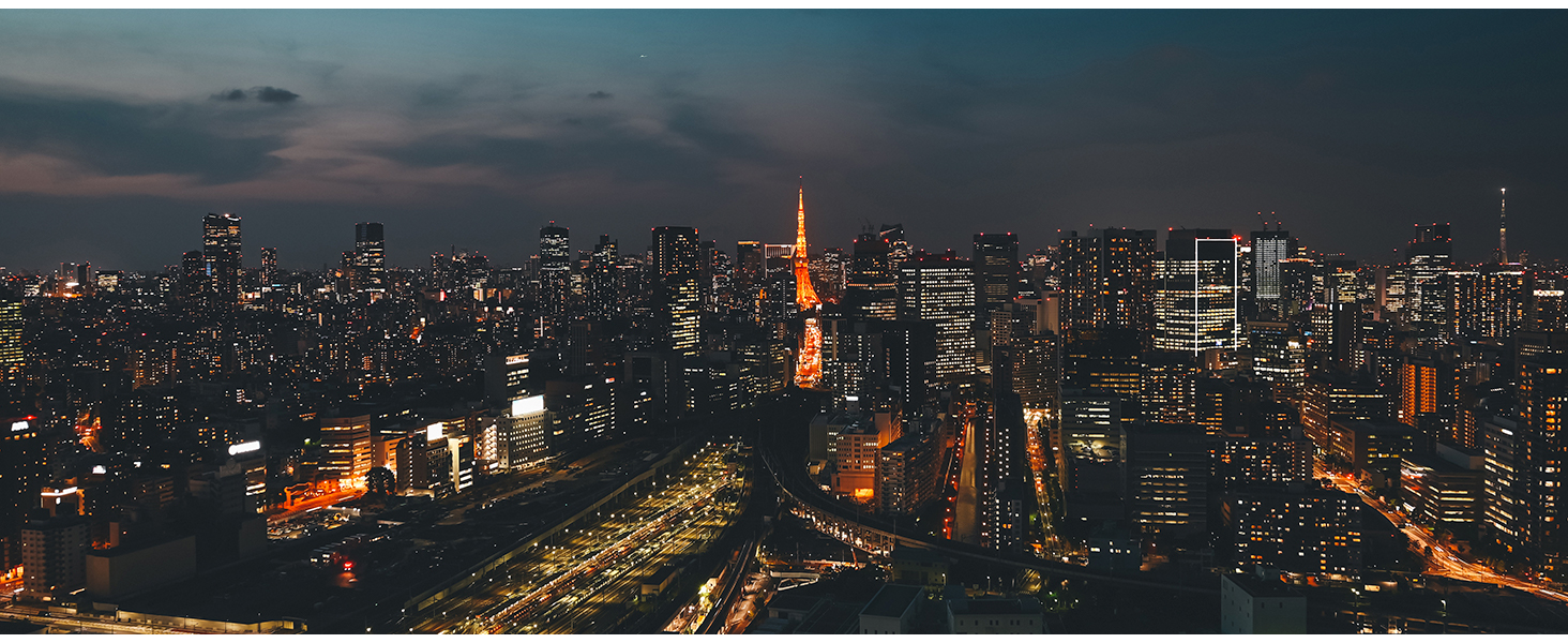 full frame mirrorless night cityscape tokyo tower