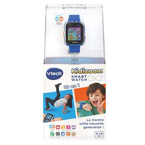 VTech, Kidizoom, montré high-tech, double objectif, selfies, 10 en 1, jeux, trucages, résistante