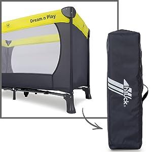 ab Geburt praktisch klein zusammenfaltbar inklusive Transporttasche Zubehör