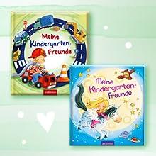 Cover von zwei Freundealben ab 3 Jahren, Meine Kindergarten-Freunde