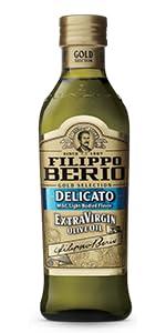Filippo Berio Delicato Extra Virgin Olive Oil - Product Image