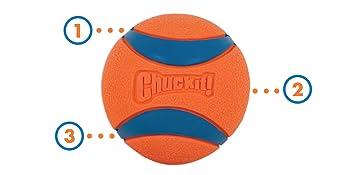 Ultra Ball; langlebig; robust; unverwüstlich; Gummi; hüpfen; Spielzeug; Hund; Labrador; Kauen; stark;