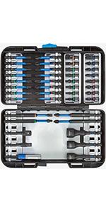 GEDORE 30 GMU-3 Socket set 3//8 17 pcs hex 6-19 mm