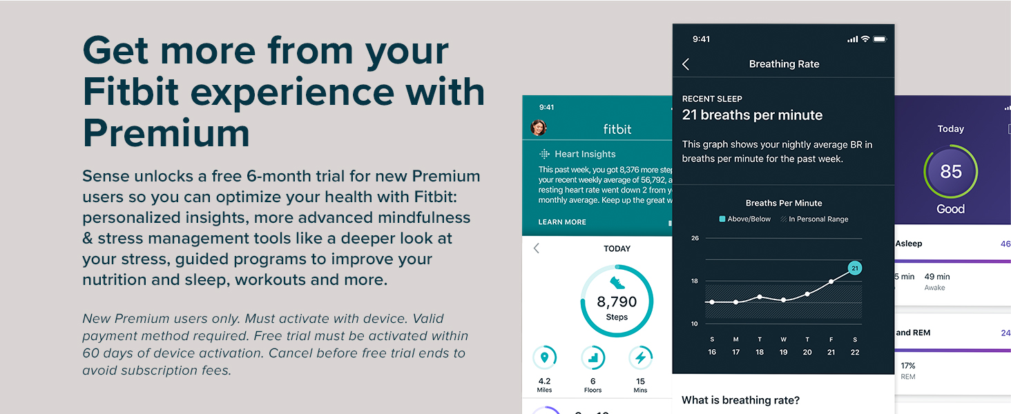 get more from your fitbit experience with premium