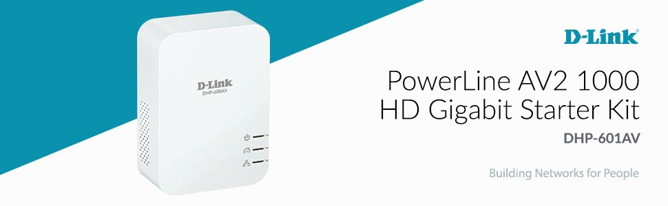 PowerLine AV2 1000 HD Gigabit Starter Kit