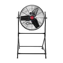 hi velocity fan; metal fan blades; fan metal blades; metal floor fan; 18 inch fan;gym fan floor