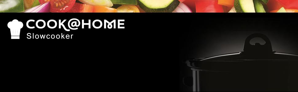 Russell Hobbs 22740-56, Cook@Home Slowcooker 3.5 Liter