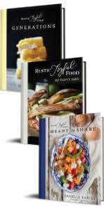 Rustic Joyful Food Cookbook Gift Set