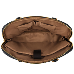 Plambag Aktendtasche damen Laptoptasche 15,8 Zoll PU Leder Handtasche