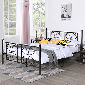 queen bed frame with headboard and footboard