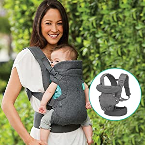 35aef591f66 Amazon.com  Infantino Flip 4-in-1 Convertible Carrier  Baby