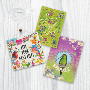 It's the art that sets us apart. Tree-Free has it all with humor, quotes, nature, cards for kids.
