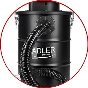 Adler AD-7035 AD 7035 Aspirador de Cenizas con Filtro HEPA, para ...
