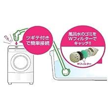 三栄水栓製作所(SAN-EI) 【風呂水給水ホースセット】