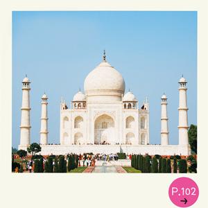 インドの世界遺産タージ・マハル