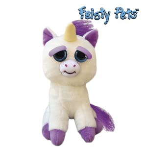 Feisty Pets-32334 Peluche Unicornio, (Goliath Games 32295)