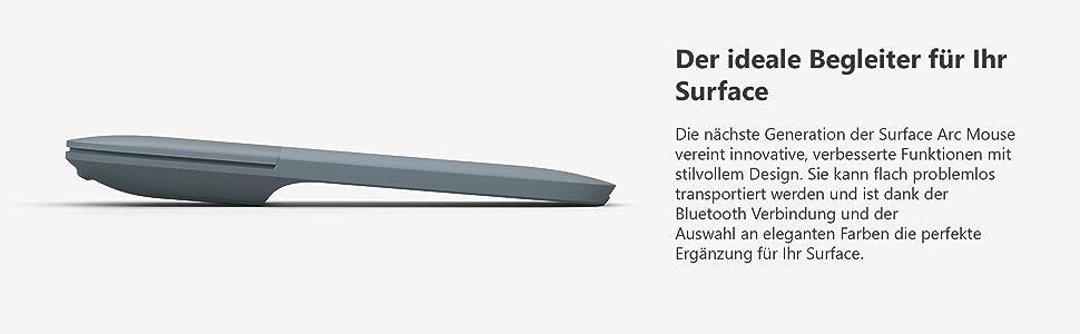 Surface Arc Mouse - Mouse, color azul