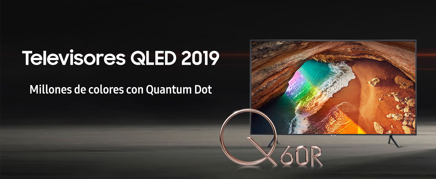 Samsung QLED 4K 2019 55Q60R - Smart TV de 55