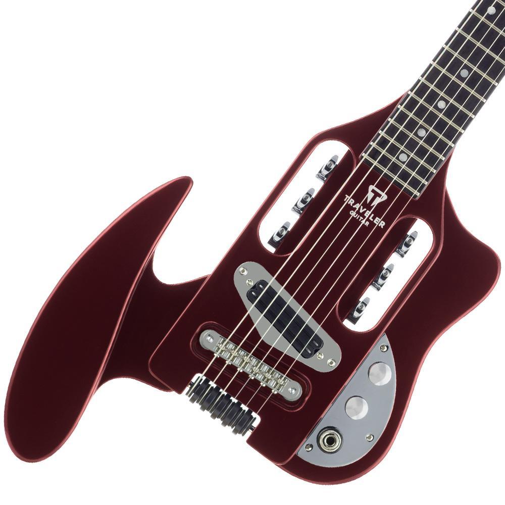 traveler guitar speedster electric travel guitar red musical instruments. Black Bedroom Furniture Sets. Home Design Ideas