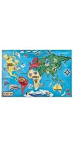 Cardboard;Continents