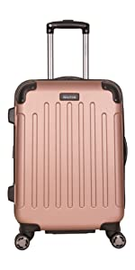 Kenneth Cole, Suitcase, Luggage, Travel, Renegade, Lightweight, Durable, Luggage Set; Men's