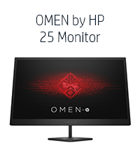 OMEN by HP 25 Monitor (Vortex, Z7Y57AA)