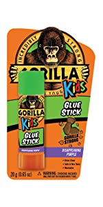 Gorilla Kids School Glue Stick