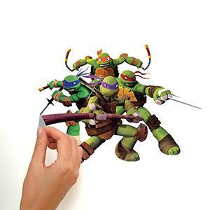 Peel and Stick Decals are Fast and Fun  sc 1 st  Amazon.ca & RoomMates RMK2246SCS Teenage Mutant Ninja Turtles Peel and Stick ...