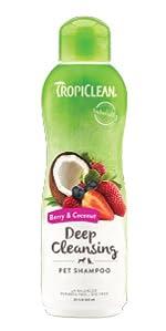 deep cleansing pet shampoo